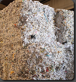 Complete and environmentally friendly document destruction.
